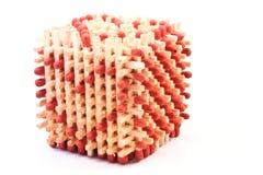 De kubus van de liefde Stock Afbeeldingen