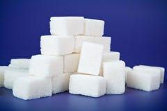 De kubus van de suiker Stock Foto's