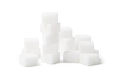 De kubus van de suiker stock afbeeldingen
