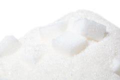 De kubus van de suiker royalty-vrije stock afbeeldingen