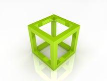 De kubus van het frame Stock Foto's