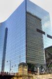 De kubus van het glas royalty-vrije stock foto