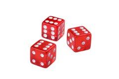 De kubus van het spel Stock Foto