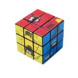 De kubus van het stuk speelgoed royalty-vrije stock foto