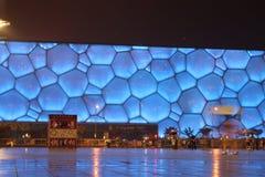 De Kubus van het water in Peking Royalty-vrije Stock Foto