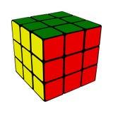 De kubus van Rubik royalty-vrije illustratie
