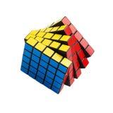 De kubus van Rubik Stock Afbeeldingen