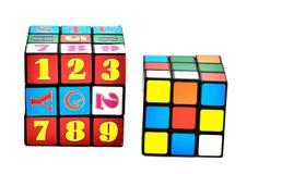 De kubus van Rubik Royalty-vrije Stock Afbeelding