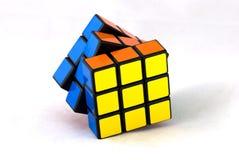 De kubus van Rubik 's stock foto