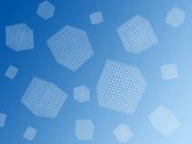 De kubussen van de draad royalty-vrije illustratie