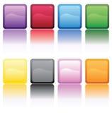 De Kubussen van de kleur Stock Afbeeldingen