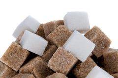 De kubussen van de suiker stock fotografie