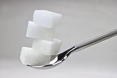 De kubussen van de suiker Royalty-vrije Stock Fotografie