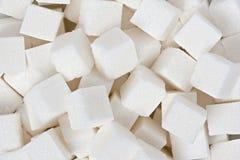 De Kubussen van de suiker Stock Afbeelding