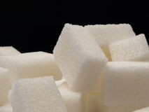 De kubussen van de suiker Royalty-vrije Stock Afbeeldingen