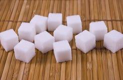De kubussen van de suiker Stock Afbeeldingen