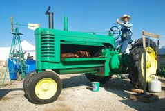 De Kuil van de Barbecue van de tractor Royalty-vrije Stock Foto's