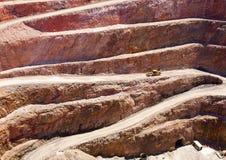 De Kuil van de mijnbouw Royalty-vrije Stock Afbeelding