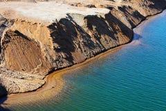 De kuil van het zand Royalty-vrije Stock Afbeelding