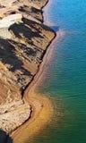 De kuil van het zand Stock Foto