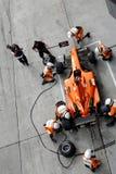 De kuileinde van Nederland A1 van het team royalty-vrije stock fotografie