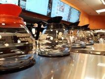 De kuiten van de koffiepot Stock Foto's