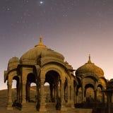 De kungliga cenotafierna av historiska linjaler Arkivbilder