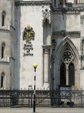 De kungliga domstolarna i London. Arkivfoton