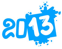 De kunst 2013 symbool van het vuil Stock Afbeelding