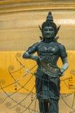 De kunst in goud zet tempel op Royalty-vrije Stock Fotografie