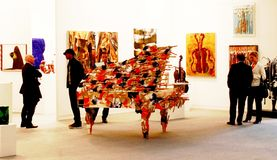 De Kunst nu 2010 van Miart Stock Foto
