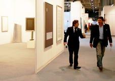 De Kunst nu 2010 van Miart Royalty-vrije Stock Afbeeldingen