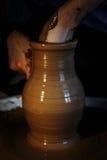 De kunst van aardewerk Stock Fotografie
