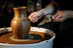 De kunst van aardewerk Stock Foto's