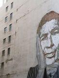 De kunst van de straat op een muur Royalty-vrije Stock Afbeeldingen
