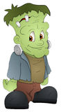 Frankenstein - het Karakter van het Beeldverhaal - VectorIllustratie vector illustratie