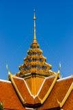 De Thaise tempel van het stijldak Stock Afbeeldingen
