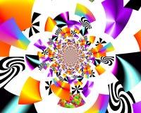De kunst van het Grafikontwerp Abstract kleurrijk het schilderen Beelden nieuw art. stock fotografie