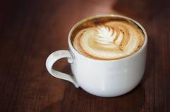 De Kunst van Koffie Latte Royalty-vrije Stock Foto