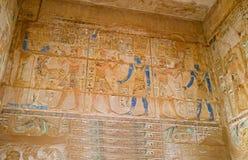 De kunst van oud Egypte stock foto's