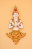 De kunst van Thailand in Wat Stock Foto's