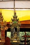 De kunst van Thaise architectuur in Tempel Royalty-vrije Stock Afbeelding