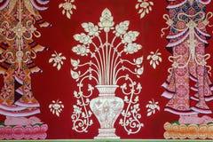 De kunst van Thaise architectuur in Tempel Stock Foto's