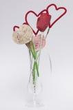 De Kunsten en de Ambachten van de valentijnskaart Stock Afbeeldingen