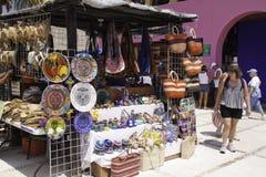 De Kunsten Maya Mexico - Souviner van Costa en Ambachten Stock Foto