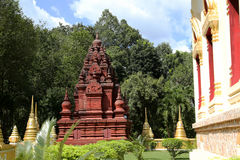 De Kunsten van mooie Tempel Royalty-vrije Stock Afbeelding