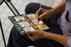 De kunstenaar van de straat Stock Fotografie