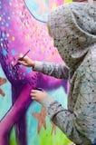 De Kunstenaar van de straat Royalty-vrije Stock Afbeeldingen
