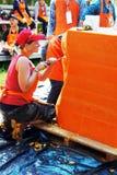 De kunstenaar van het Festival 2012 van de Kaars Ubon Royalty-vrije Stock Fotografie