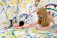 De Kunstenaar van het kind stock afbeeldingen